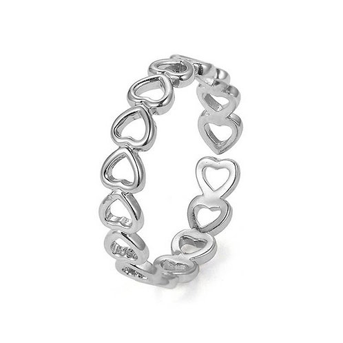 Love Hearts Adjustable Ring