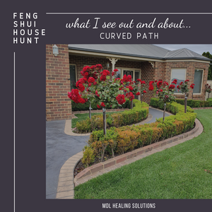 What I see out and about - Curved path
