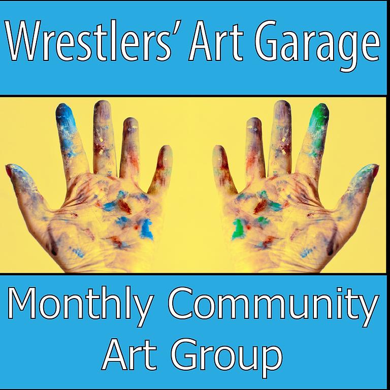 Wrestlers Art Garage | May