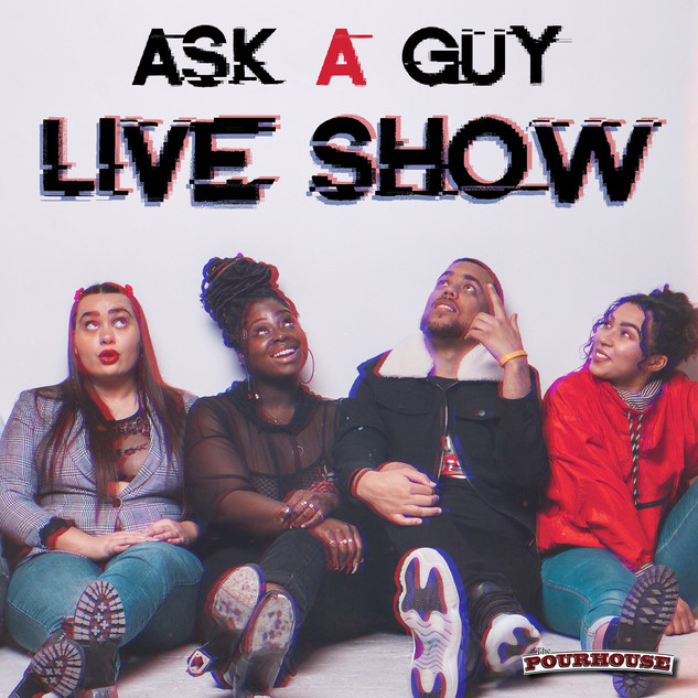 Ask A Guy Podcast Live Show GIF Promotion