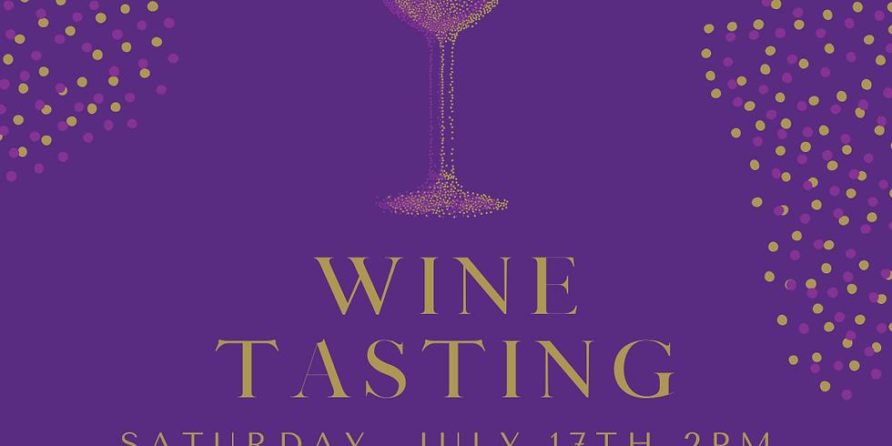 July Wine Tasting