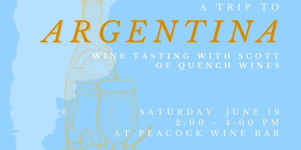 Trip To Argentina: Wine Tasting