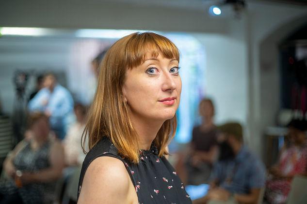 Guest speaker Katherine Round
