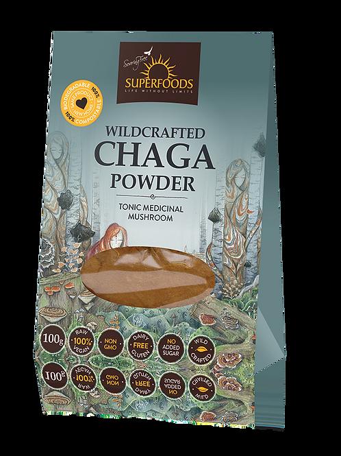 Wildcrafted Chaga Powder