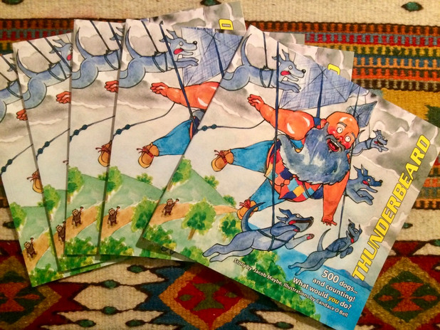 Thunderbeard books
