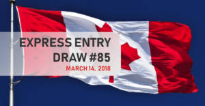 Canada invites 3,000 Express Entry candidates in March 14 draw