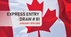IRCC starts 2018 with record low cut-off score for a first draw of the year