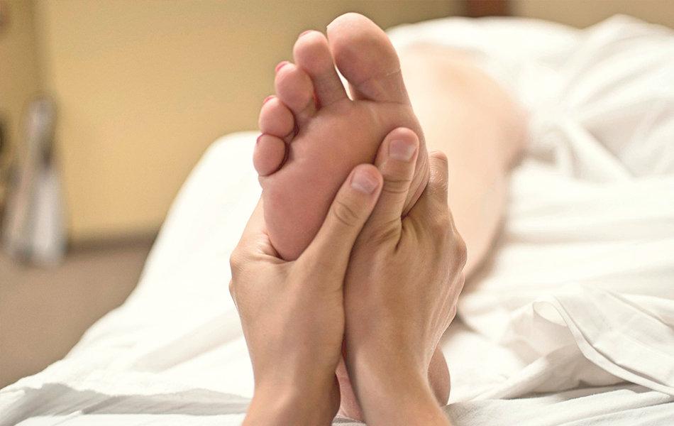 Fussreflexzonen Massage