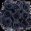 Thumbnail: PLUS 9 ETERNAL ROSES - GLITTER BLACK - BLACK SQUARE BOX