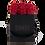 Thumbnail: 9 Roses Eternelles Rouge Passion - Box carrée Noire