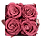 Thumbnail: 4 Eternal Roses - Rosewood - Light Wood square Box