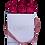 Thumbnail: 9 Roses Eternelles Carmin Intense - Box carrée Blanche