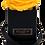 Thumbnail: 1 Eternal Rose - Golden Yellow - Black square Box