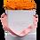 Thumbnail: PLUS 9 ETERNAL ROSES - VIBRANT ORANGE - WHITE SQUARE BOX