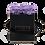 Thumbnail: 4 Roses Eternelles Parme Doux - Box carrée Noire