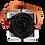 Thumbnail: 1 Rose Eternelle Noir Profond - Box carrée Grise