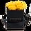 Thumbnail: CLASSIC 4 ETERNAL ROSES - GOLDEN YELLOW - BLACK SQUARE BOX