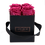 Thumbnail: CLASSIC 4 ETERNAL ROSES - FUCHSIA PEPS - BLACK SQUARE BOX