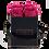 Thumbnail: 4 Roses Eternelles Fuchsia Peps - Box carrée Noire