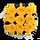 Thumbnail: 9 Roses Eternelles Jaune d'Or - Box carrée Noire