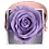 Thumbnail: 1 Rose Eternelle Parme Doux - Box carrée Rose Poudré