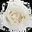 Thumbnail: 1 Eternal Rose - Pure White - Black square Box