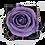 Thumbnail: 1 Eternal Rose - Soft Parma - Black square Box