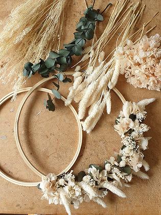 DIY : Kit Couronne de Fleurs séchées