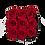 Thumbnail: PLUS 9 ETERNAL ROSES - PASSION RED - BLACK SQUARE BOX