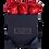 Thumbnail: 9 Roses Eternelles Rouge Pailleté - Box carrée Noire