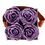 Thumbnail: CLASSIC 4 ETERNAL ROSES - SOFT PARMA - GREY SQUARE BOX