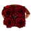 Thumbnail: CLASSIC 4 ETERNAL ROSES - INTENSE CARMINE - GREY SQUARE BOX