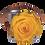 Thumbnail: 1 Eternal Rose - Golden Yellow - Grey square Box