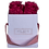 Thumbnail: CLASSIC 4 ETERNAL ROSES - INTENSE CARMINE - WHITE SQUARE BOX