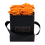 Thumbnail: 4 Roses Eternelles Orange Vibrant - Box carrée Noire