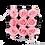 Thumbnail: PLUS 9 ETERNAL ROSES - SOFT PINK - BLACK SQUARE BOX