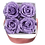 Thumbnail: 4 Eternal Roses - Soft Parma - Powder Pink square Box
