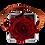 Thumbnail: 1 Rose Eternelle Carmin Intense - Box carrée Grise
