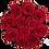 Thumbnail: 15 Roses Eternelles Rouge Passion - Box Ronde Noire XL