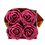 Thumbnail: CLASSIC 4 ETERNAL ROSES - ROSEWOOD - GREY SQUARE BOX