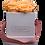 Thumbnail: CLASSIC 4 ETERNAL ROSES - VELVETY PEACH - WHITE SQUARE BOX