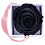 Thumbnail: 1 Eternal Rose - Deep Black - Powder Pink square Box