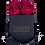 Thumbnail: CLASSIC 4 ETERNAL ROSES - INTENSE CARMINE - BLACK SQUARE BOX