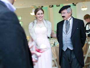 Quand un mariage devient Art Déco.