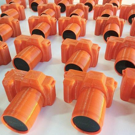 series printing dispay for cameras