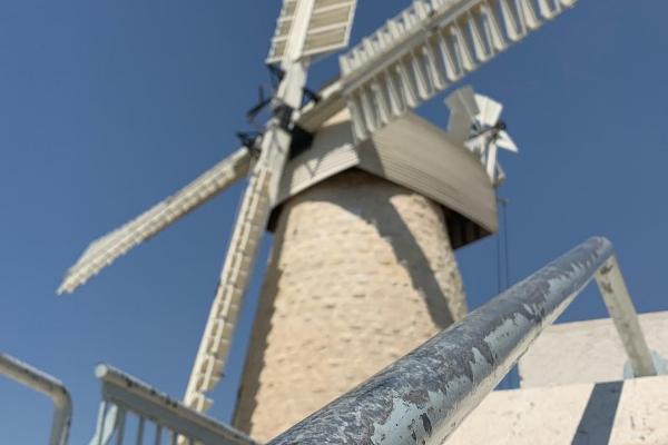 The Montefiore Windmill in Yemin Moshe