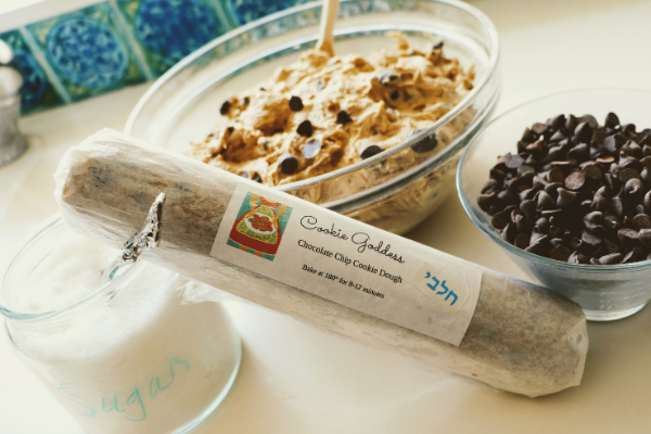 Cookie dough and ingrediants used by Elyse Shahar, owner of the Cookie Goodness