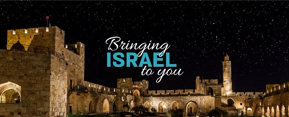 Bringing Israel to you. israel connect