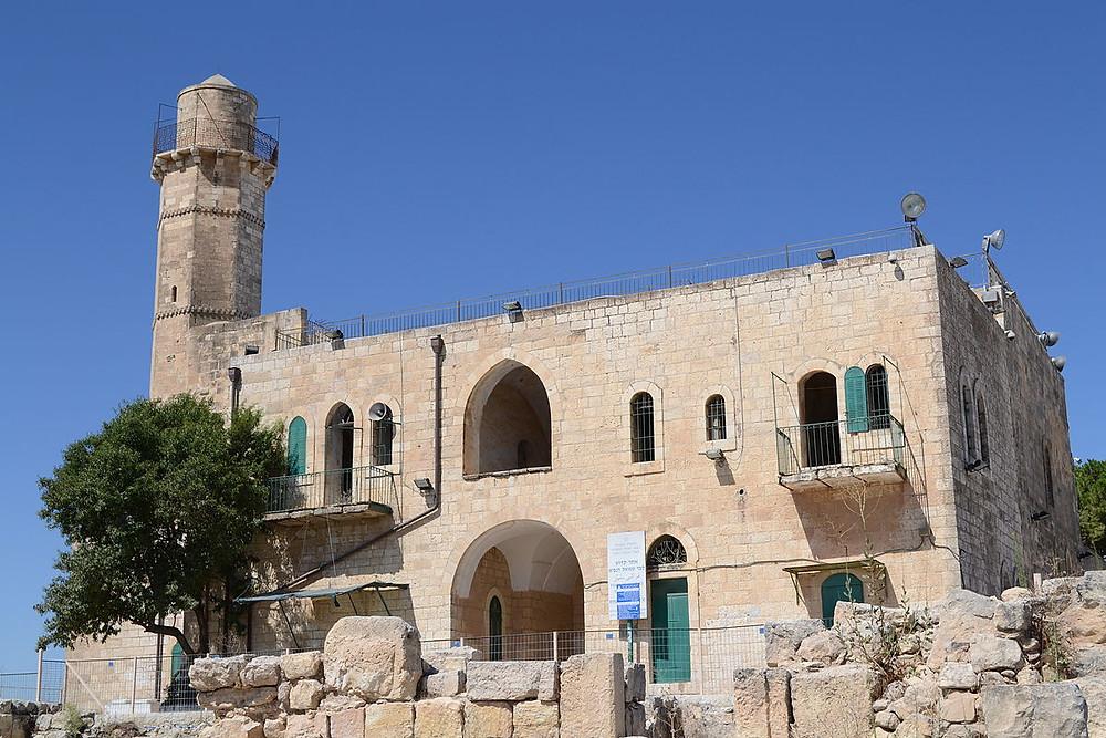 The Tomb of the Prophet Samuel near Jerusalem