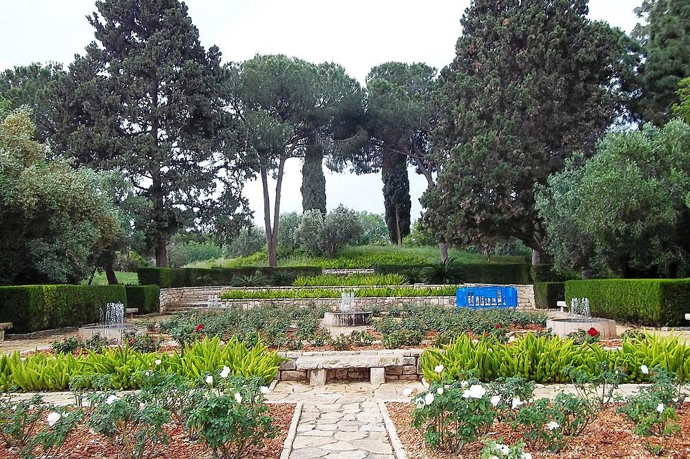 The Ramat HaNadiv Gardens in Zihron Yaakov in honor of Edmund de Rothschild